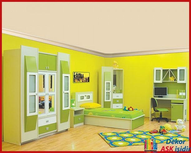 2016 Çocuk Odası Modellerinden Değişik Örnekler
