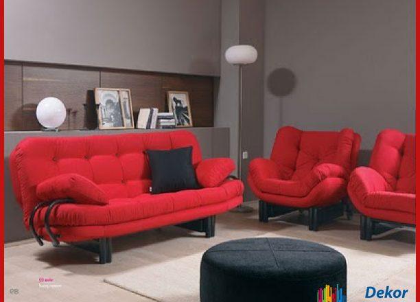 Kırmızı Koltuk Takımı Modellerinden En Güzel Örnekler