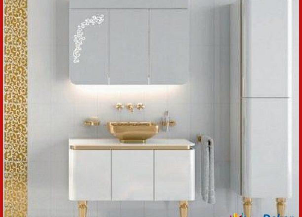 Vitranın En Güzel Lavabolu Banyo Dolapları Lüks Modelleri
